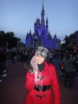 In front of castle make me feel like a princess